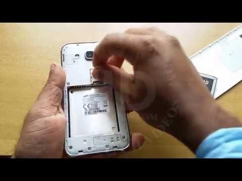 How to insert SIM card Samsung Galaxy J2 | Dual SIM | Micro SIM | Samsung Mobile Phone | Tutorial