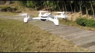 HUBSAN FPV X4 DESIRE H502S 飛んでいるところと少し空撮