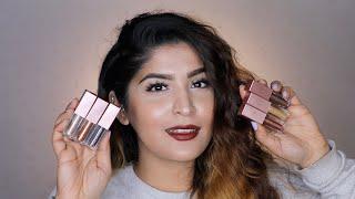 Swiss Beauty Metallic Liquid Eyeshadow Review & Swatches | All Shades | #RevieWednesday |Shreya Jain