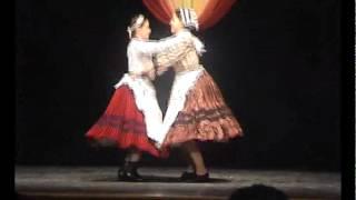 preview picture of video 'Csala Szabina - Vígh Vivienn: Kalocsai mars és friss'