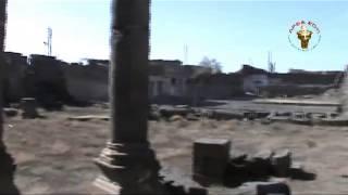 preview picture of video 'Bosra   etat du lieux église St بصرى الشام اثار الدمار في الكنيسة البيزنطية'