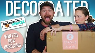 Decocrated - The Home Decor Subscription Box | Winter 2018 | Unboxing