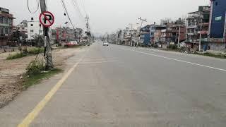 Lockdown effect in ring road kathmandu