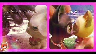 "Littlest Pet Shop (LPS)""I Love to Kiss You""6 серия.""Иоши,это правда ты..?"""
