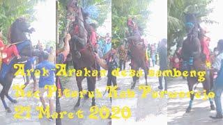 Arak Arakan desa sambeng kec pituruh 21 maret 2020
