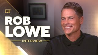 Rob Lowe On His Sons' Trolling Skills, His Workouts And 35 Years Of The Brat Pack (Full Interview)