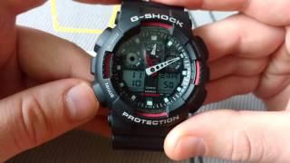 Ustawienie Godziny I Daty W Casio G Shock GA 100