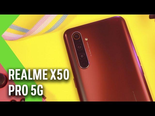 Realme X50 Pro 5G, análisis: el REALME más CARO también es el más COMPETITIVO