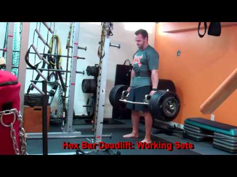 Lower Body Workout: Deads, Squats, GHR, Prowler