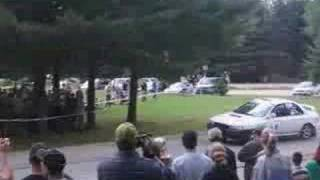 preview picture of video 'Rallye Defi Ste-Agathe 2007 (SS7)'