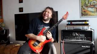 Dio - Night People guitar cover