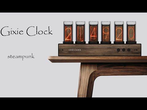 Gixie Clock:Most beautiful Nixie tube clock-GadgetAny