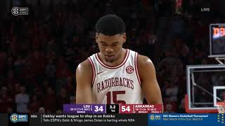 Arkansas Vs. LSU 3/4/2020