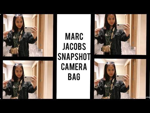Marc Jacobs Small Snapshot Camera Bag: Review 2018 + What Fits?