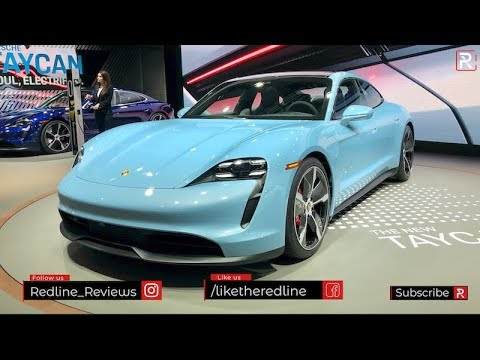 2020 Porsche Taycan 4S – Redline: First Look – 2019 LA Auto Show