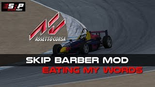 Assetto Corsa Skip Barber Mod Impressions - Time to Eat My Words!