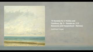 10 Sonatas for 2 Violins and Continuo, Op. 5