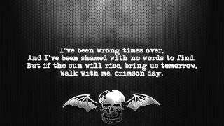 Avenged Sevenfold - Crimson Day [Lyrics on screen] [Full HD]