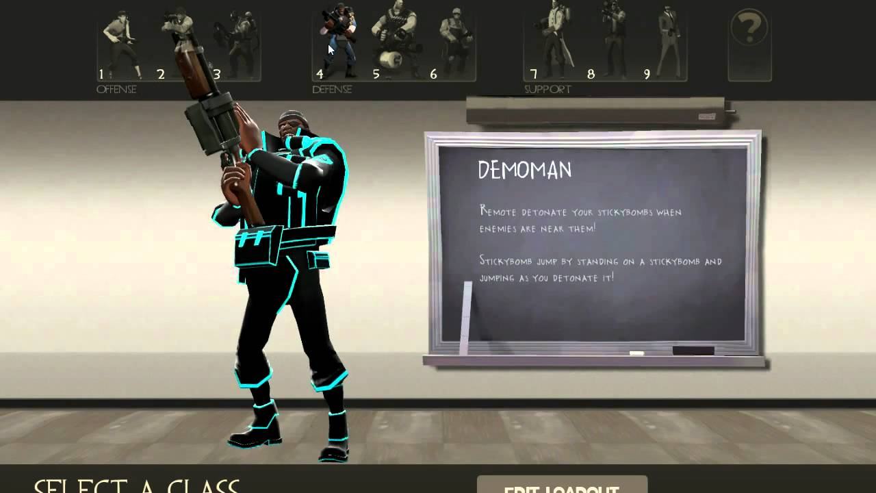 Tron-ify Your Team Fortress 2 With Custom Skins, User