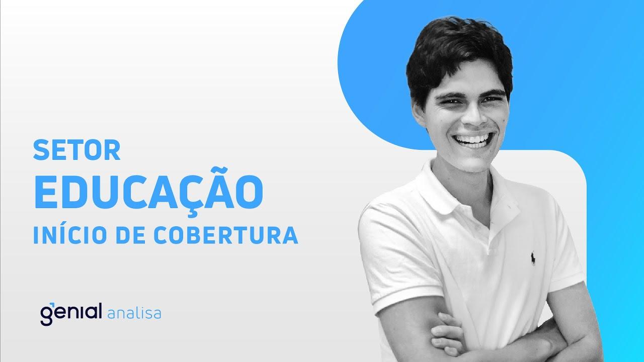Thumbnail do vídeo: Início de Cobertura – Setor de Educação // Rafael Rehder