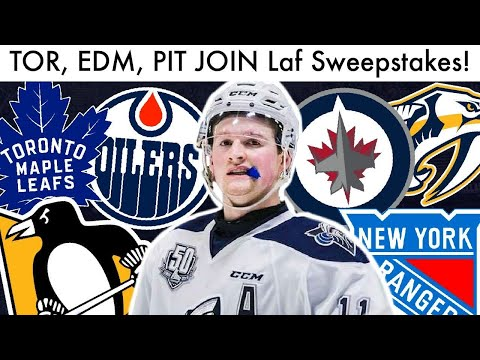 Leafs, Oilers, Penguins JOIN Alexis Lafreniere Sweepstakes! (2020 NHL Draft Lottery Phase 2 Rumors)