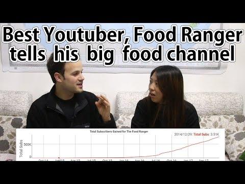 Best Youtuber, Food Ranger, tells his big street food channel. (Interview Trevor James)