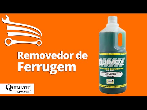 Removedor de Ferrugem Quimox 500ml - Video