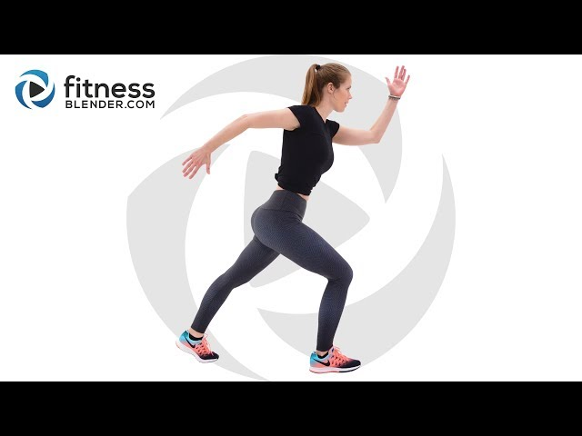 Easy Pilates and Cardio Workout with Relaxing Cool Down – Active Recovery Workout