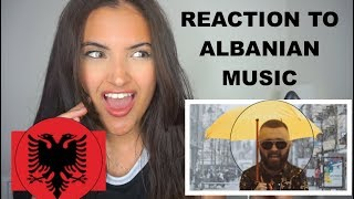 FIRST REACTION TO ALBANIAN MUSIC! (Rina Ft Fero, Butrint Imeri, Capital T Majk, Era Istrefi)