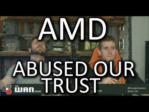 Disappointed in AMD - WAN Show Dec. 8 2017