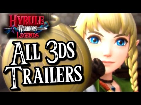 Видео № 1 из игры Hyrule Warriors Legends [3DS]