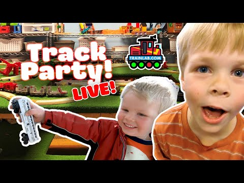 TRAINLAB TRACK PARTY! (live)