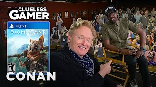 """Clueless Gamer: """"Biomutant"""" With JB Smoove - CONAN on TBS"""