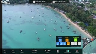 Flying a Drone in Indonesia from my House in Texas!?!?!