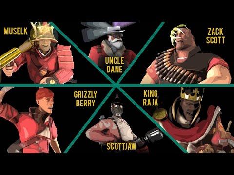 MvM With YouTubers #2   Muselk, King Raja, Zack Scott, ScottJAw, Grizzly Berry & Uncle Dane