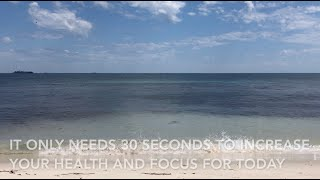 relaxation in 30 seconds to increase your health and focus