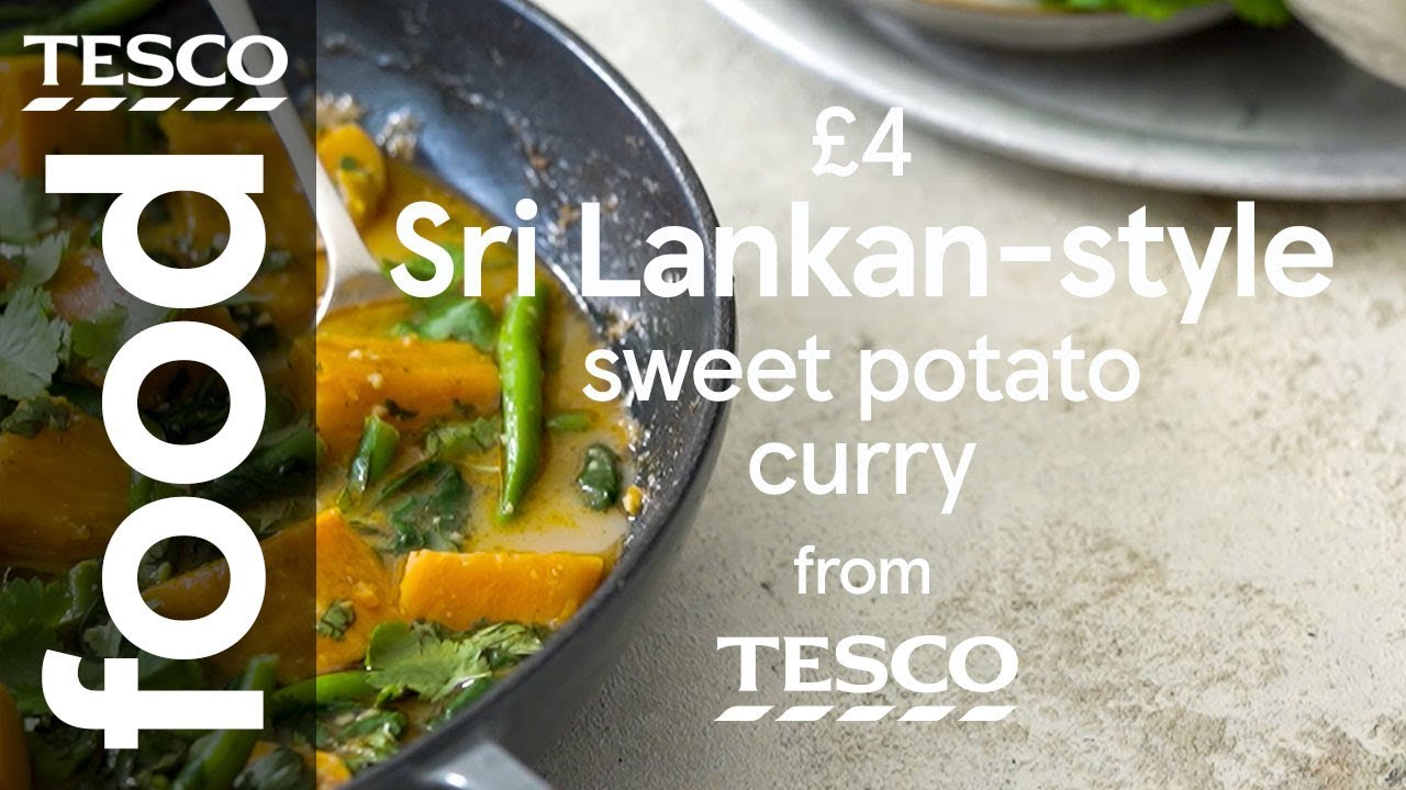 Sri Lankan-style sweet potato curry