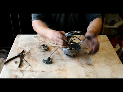 Ремонт стартера мотокосы Oleo-mac Sparta 25