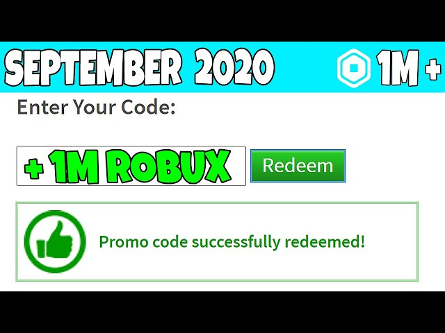 Roblox Redeem Robux Codes 2020 How To Get Free Redeem Codes For Roblox