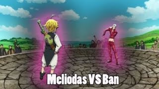 Meliodas vs ban Super héroes PvP MINECRAFT pe