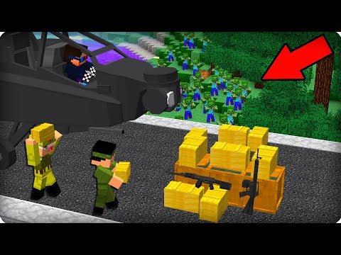 Новая военная база [ЧАСТЬ 90] Зомби апокалипсис в майнкрафт - (Mинекрафт - Сериал)