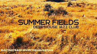 Summer Fields - Deep House Jazz Club Music visualization