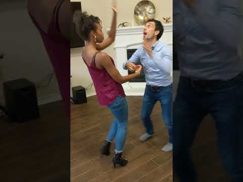 Social bachata dancing