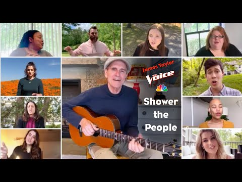 Shower The People – Live on The Voice