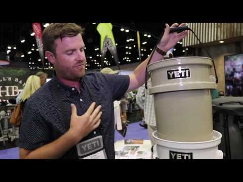 YETI LoadOut Bucket at ICAST 2017