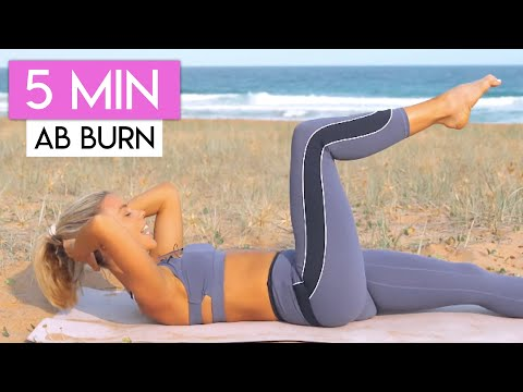 5 Minute LOWER ABS Workout 👙💕 LOSE LOWER BELLY FAT