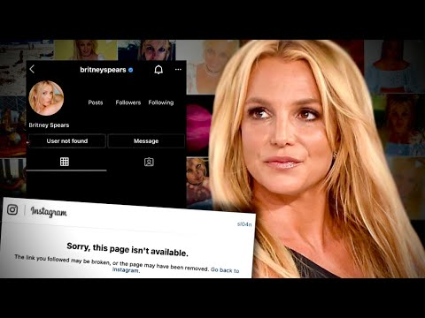 Why was Britney Spears' Instagram DELETED?!