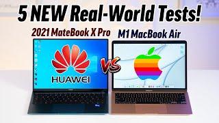 MateBook X Pro vs M1 MacBook Cua - M1 Killer los ntawm Tuam Tshoj?