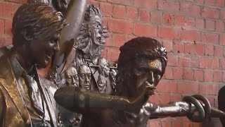 World's first ever David Bowie statue unveiled