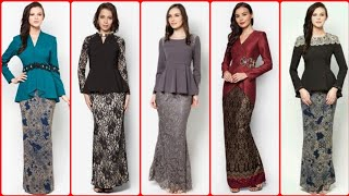 Most Beautiful And Outstanding Unique Style Baju Kurung Dresses For Womens/Zalora/Malaysia & Brunei